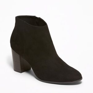 Old Navy black booties NEW no tags